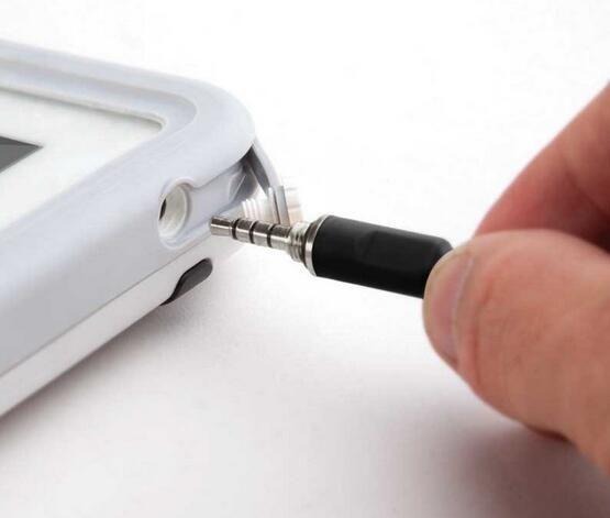 Connettore cavi computer Connettori in plastica nera LX1 Custodia jack audio da 3,5 mm