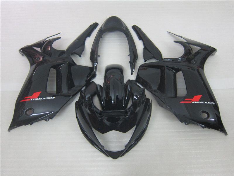3 Geschenk Neue heiße ABS Motorrad Verkleidungssätze 100% Fit für GSX650 F 2008 2012 GSX650F GSX650 08 12 Schwarz