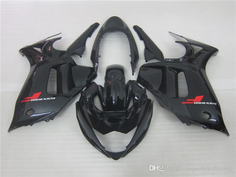 3 regalo Nueva Hot ABS kits de Carenado de la motocicleta 100% Ajuste Para GSX650 F 2008 2012 GSX650F GSX650 08 12 Negro