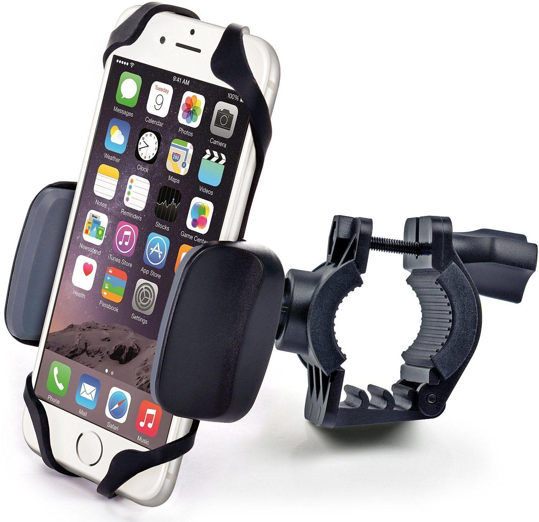 휴대 전화 산악 자전거에 대 한 홀더를 탑재 360도 회전 실리콘 자전거로 휴대용 전화 홀더 클립 보편적 인 범용 휴대용