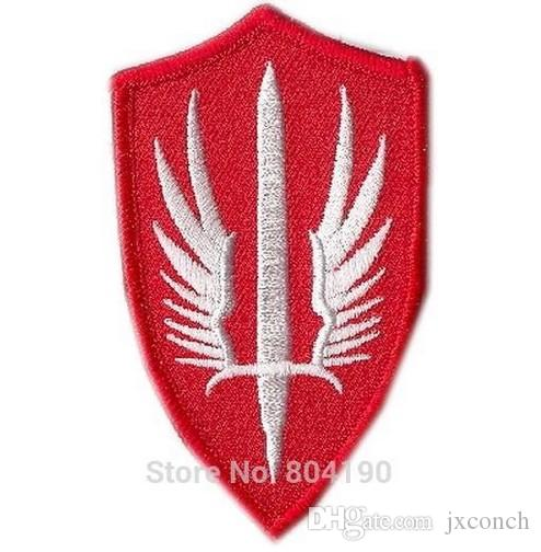 "3.5"" Battlestar Galactica Original Pegasus Uniform/Costume TV MOVIE Series Uniform punk rockabilly applique iron on patch"
