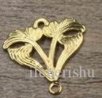 07542 17*18mm antique bronze/silver/rose gold/gun black filigree flower charms for jewelry making, vintage necklace pendants for bracelet