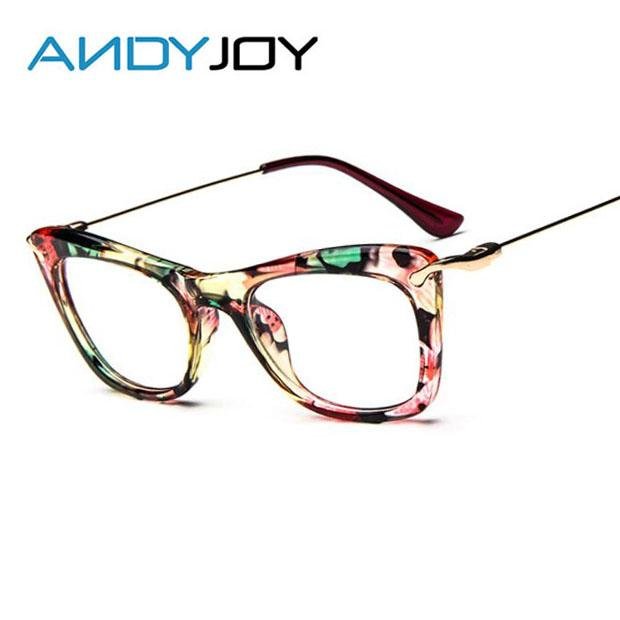 5c487743dd5 Wholesale- ANDYJOY Fashion Brand Design Retro Printing Eyeglasses ...