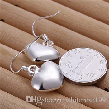 Großhandel - niedrigster Preis Weihnachtsgeschenk 925 Sterling Silber Mode Ohrringe yE022