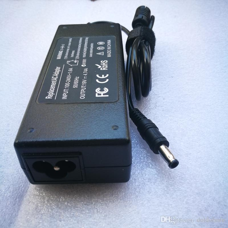 19V 4.74A 90W AC Adapter Power Supply Laptop Charger for Samsung R520 R522 R530 R580 R560 Notebook 5.5*3.0mm 5.5x3.0mm