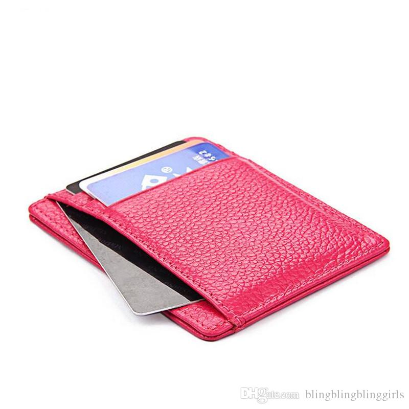 Wholesale Leather Convenient Id Pocket Bank Credit Card Business ...