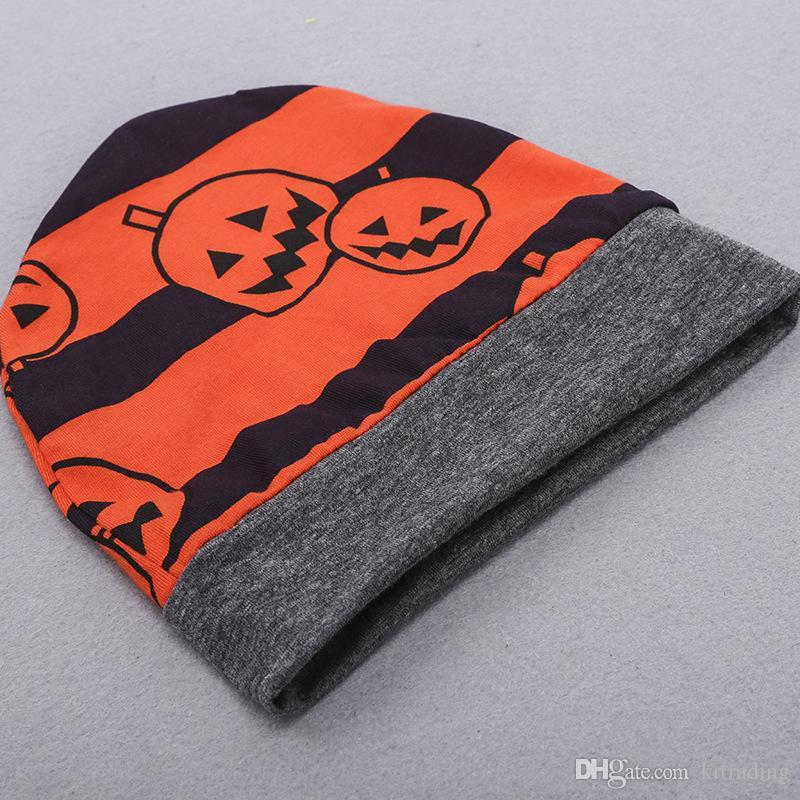 Bambino di Halloween abiti simposta cappello della zucca a strisce bianche + romper + pants infnats zucche banda ins abbigliamento Holloween caldo bambino abbigliamento