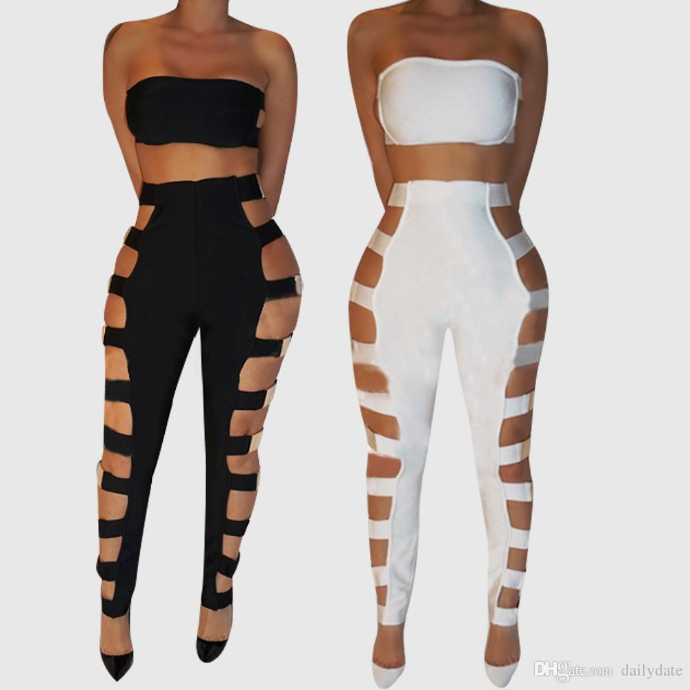 3ba3b296078 Hot Sale Fashion Trendy Lady Women s Sexy Suits Top Women s Backless Tube Sleeveless  Clubwear Bodycon Jumpsuit Romper Evening Part Rompers Top Women s ...