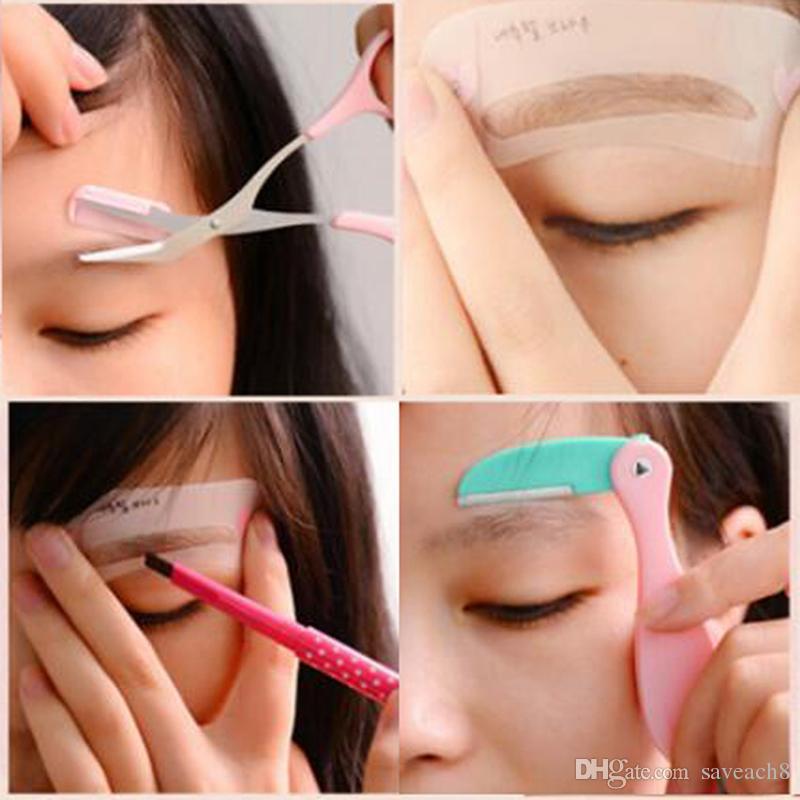 Cosmetic Tool Set Eyebrow Shaving Trimmer Eyebrow Enhancer Drawing