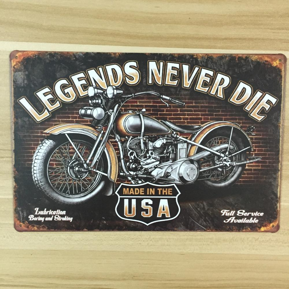 2018 Wholesale Made In Usa For Motorcycle Vintage Home Decor Ua 0051 ...