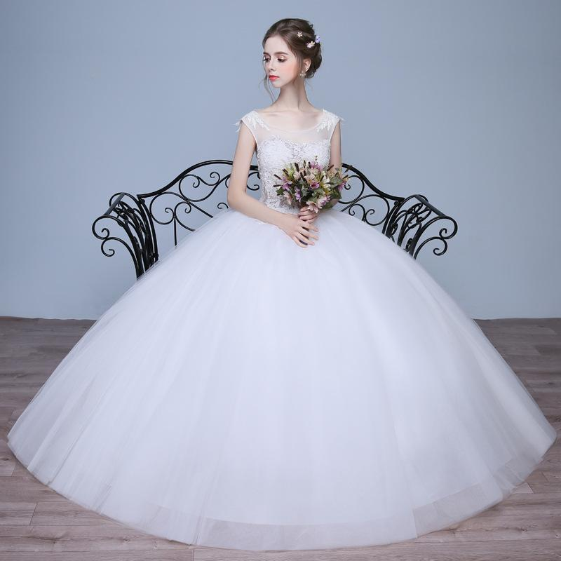 Wedding Gown Korean Style: Pregnant Woman Size Factory Direct Manufacturers Wholesale