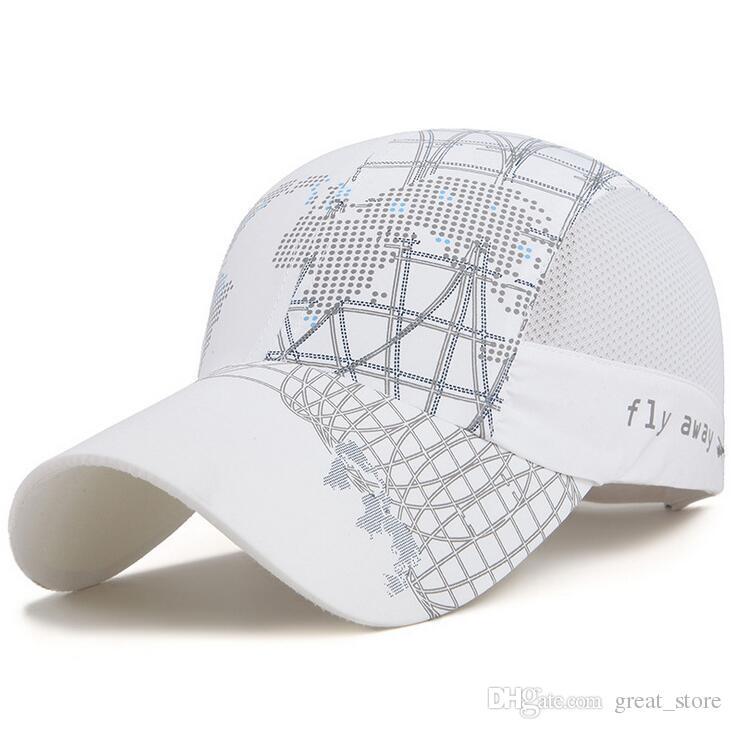 Miglior regalo 2017 nuove primavera ed estate della protezione del sole da baseball uomini e donne ombra all'aperto cappello netta di viaggio trekking cappello rapido M121 con scatola