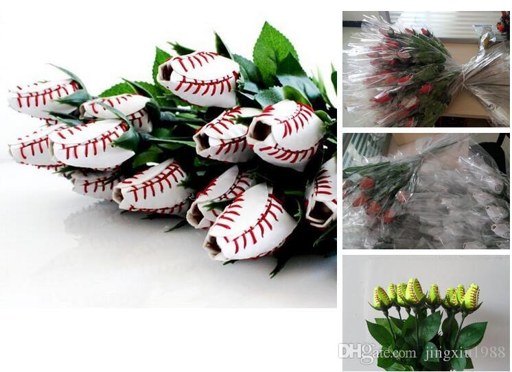American fashion softball baseball roses fast delivery