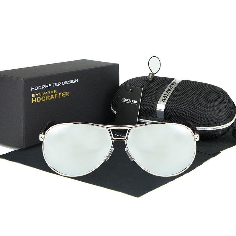 913c03101b7d9 Polarized Designer Sunglasses For Men With Frame Aluminum Magnesium Luxury Brand  Sun Glasses Mens Driving Sunlasses Rays UV400 Protection Sunglasses For Men  ...