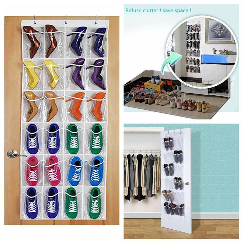 24 pockets over door hanging bags box shoes organize rack hanger storage tidy storage box hanging bags after the door hang bags from