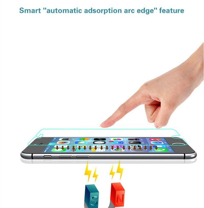 0.26mm 2.5d 9 h protetor de tela de vidro temperado para o novo iphone 6.1 6.5 x 8 7 emergir q7 mais g7 xpower 2 stylo 4
