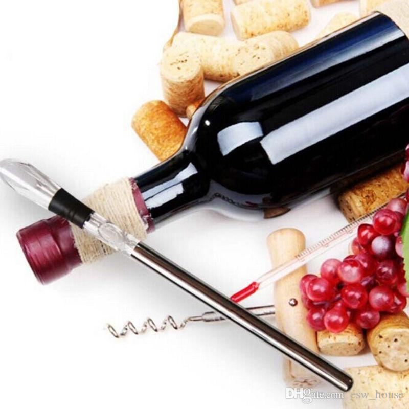 304 Stainless Steel Ice Wine Bar Wine Chiller Cooling Stick Quick-frozen Ice Wine Sticks Pourer