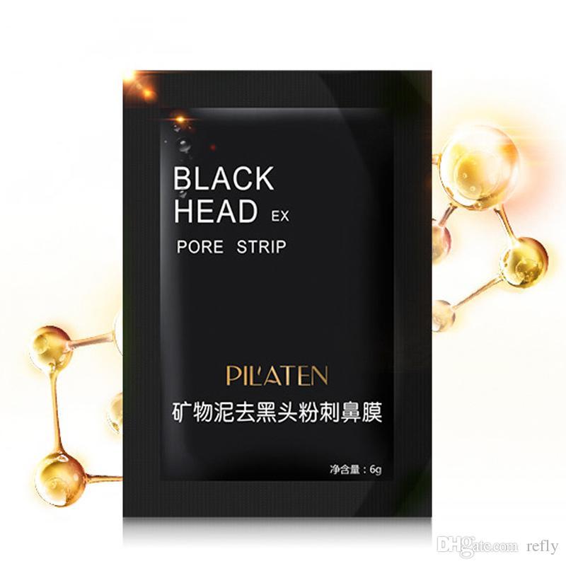 Pilaten schwarze Maske Mitesser Entferner Tiefenreinigung Peel-off-Maske Porenreiniger, Gesichtsmaske, freies DHL-Verschiffen