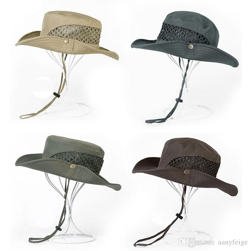 dd061800 2019 Military Camouflage Bucket Hats Jungle Fisherman Hat With Wide Brim  Sun Fishing Bucket Hat Outdoor Camping Hunting Caps From Aanyfeige, $5.3    DHgate.