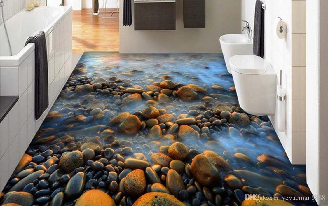 3d Fußboden Wasser ~ Großhandel d stereoskopische tapete custom d boden fototapete