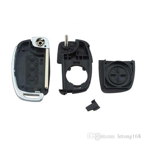 HYUNDAI ix45 산타페 리모콘 키 케이스 FOB 용 100 % 3 버튼 플립 키 셸 무료 배송