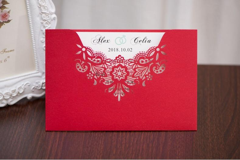 Hot selling business Invitation letters cards wholesale invitation meeting open invitation American European style in good price DHL FREE