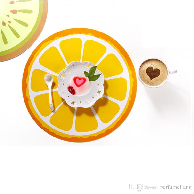 Cartoon PP Placemat 40*29cm Meal Cup Pad Table Decoration Accessories Kitchen Dining Tableware Utensil Restaurant Mats ZA3516