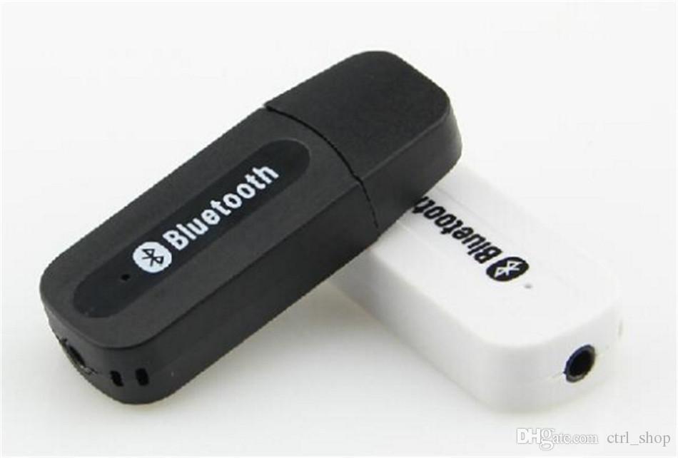 Bt-163 usb receptor de música estéreo bluetooth adaptador de áudio do carro sem fio 3.5mm bluetooth receptor dongle para iphone speaker mp3