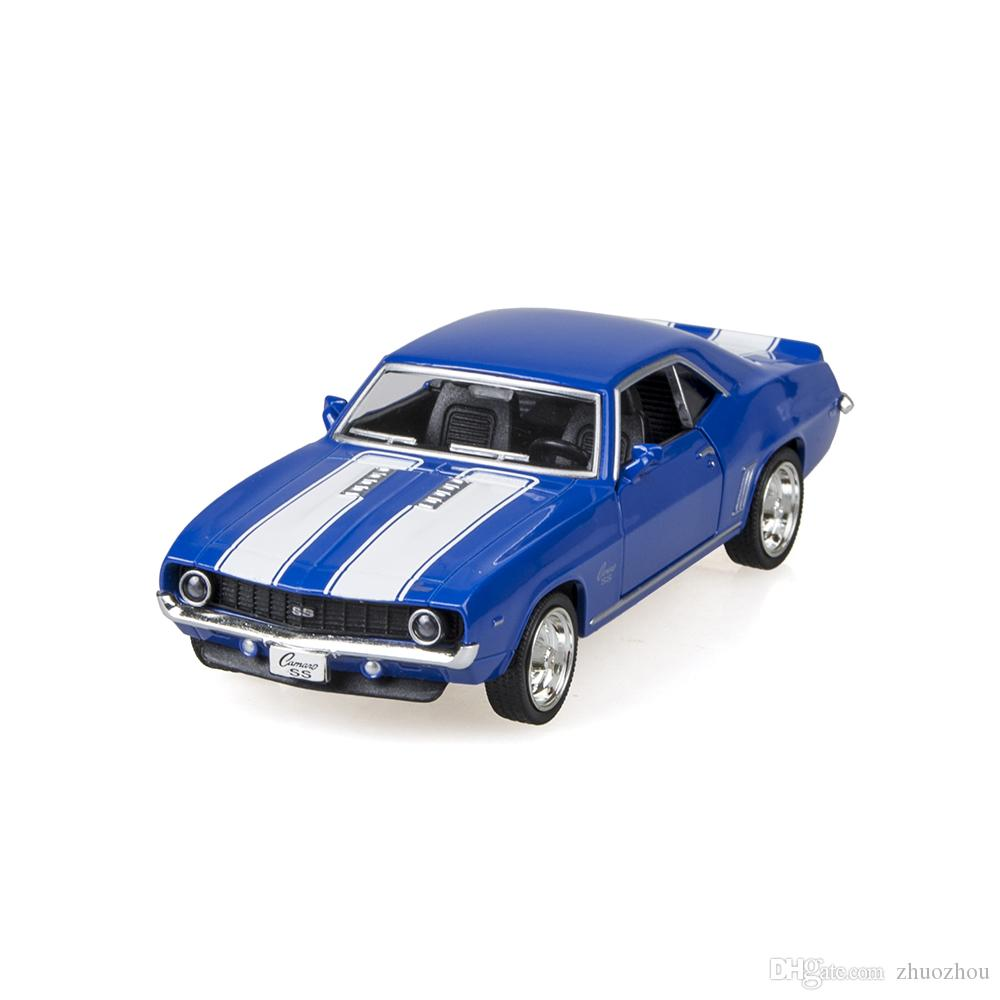 2017 uni fortune camaro ss 1969 blue 136 alloy model car kids toys cars diecast metal pull back car toy for gift collection from zhuozhou 954 dhgate