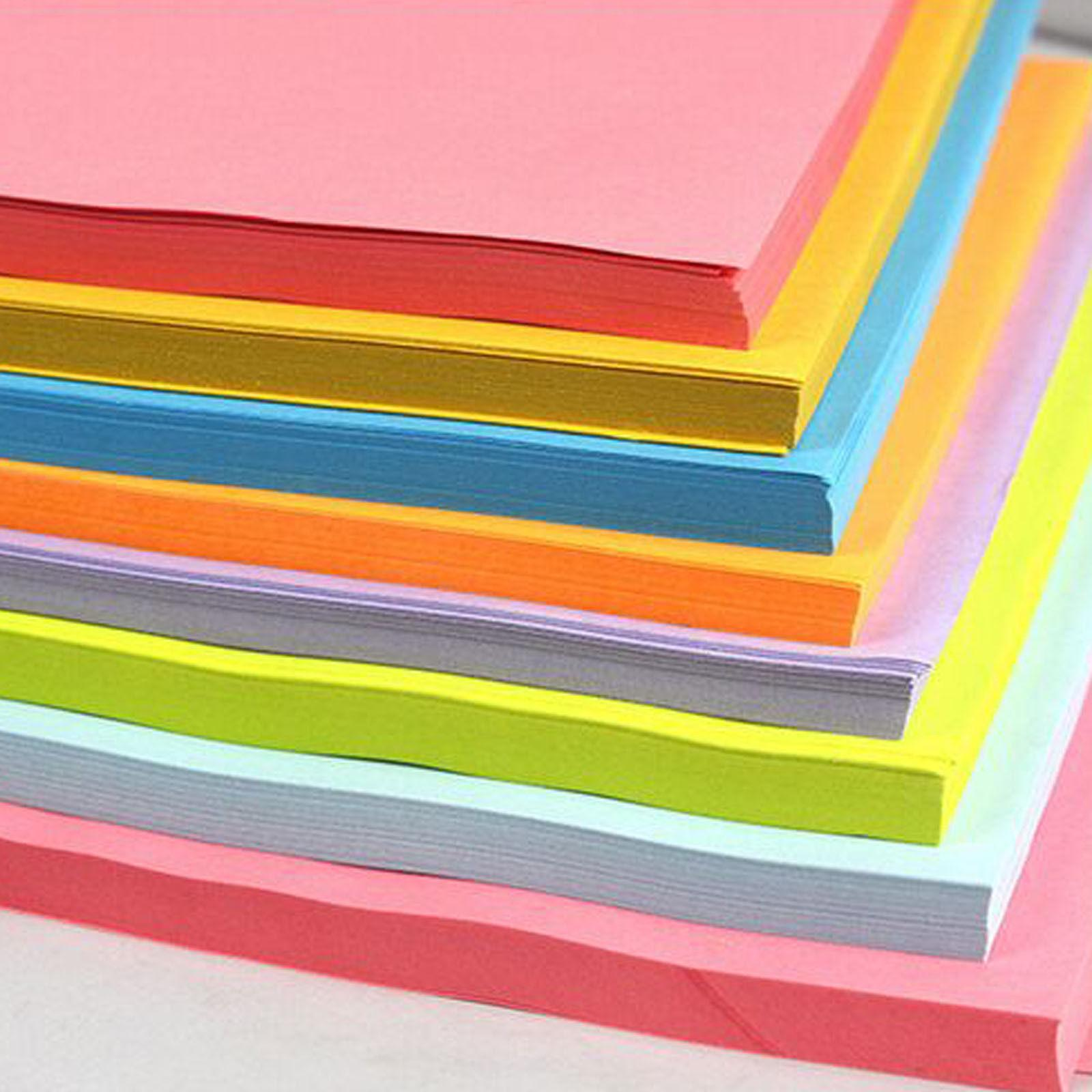 A4 297mm X 210mmcoloured Card Craft Paper 50 Sheets Printer Copier