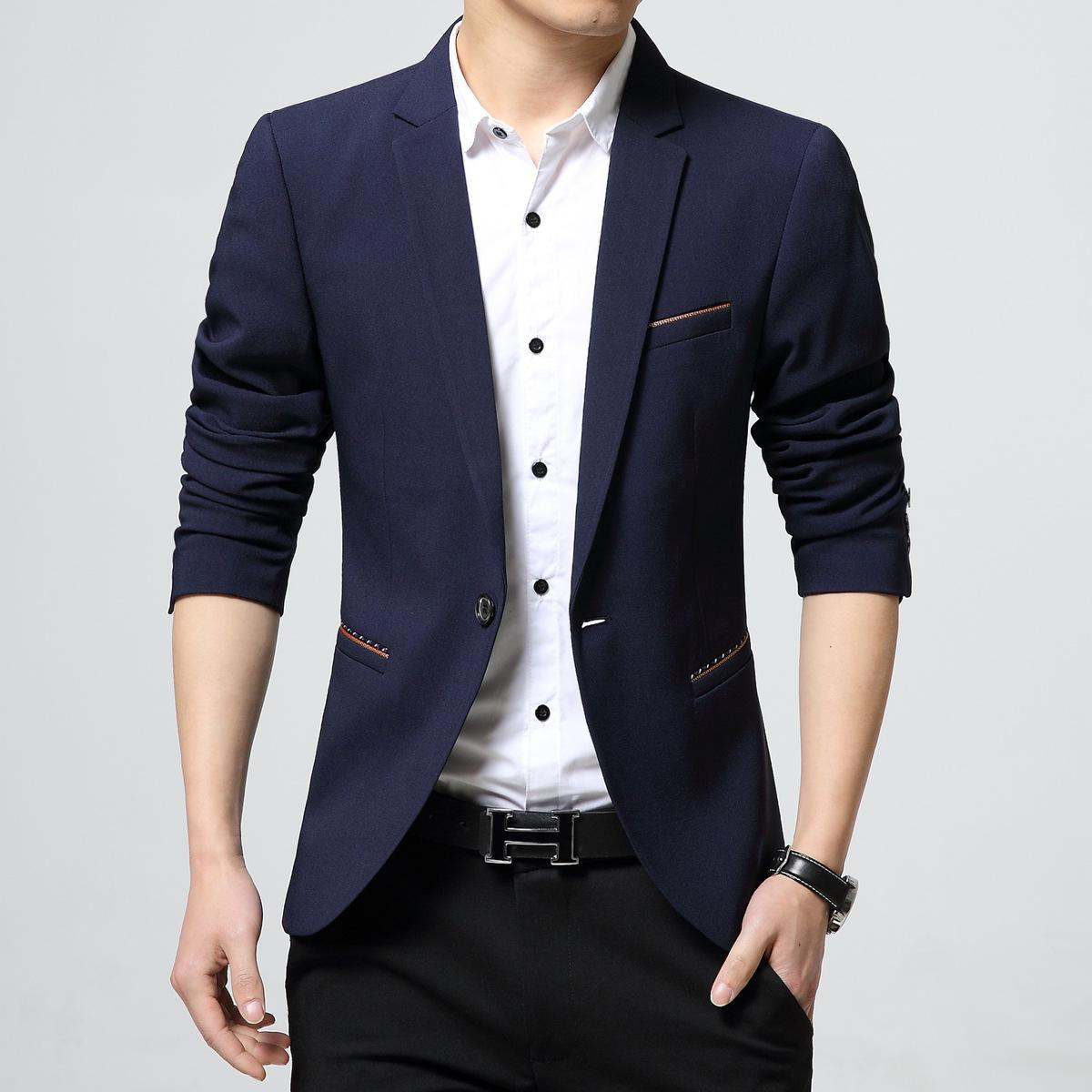 Latest Coat Design Wedding Dress For Men Casual Blazer Suit Jacket ...