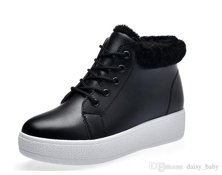 Winter Warm Girl Fashion Casual Shoes