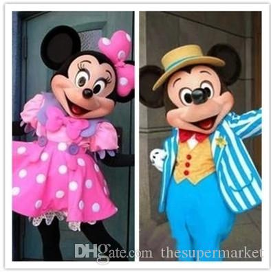 mascots mickey mouse cartoon doll clothing halloween costume mickey minnie adult walking mascot cartoon cartoon doll buy halloween costumes aladdin costumes - Mickey Minnie Halloween