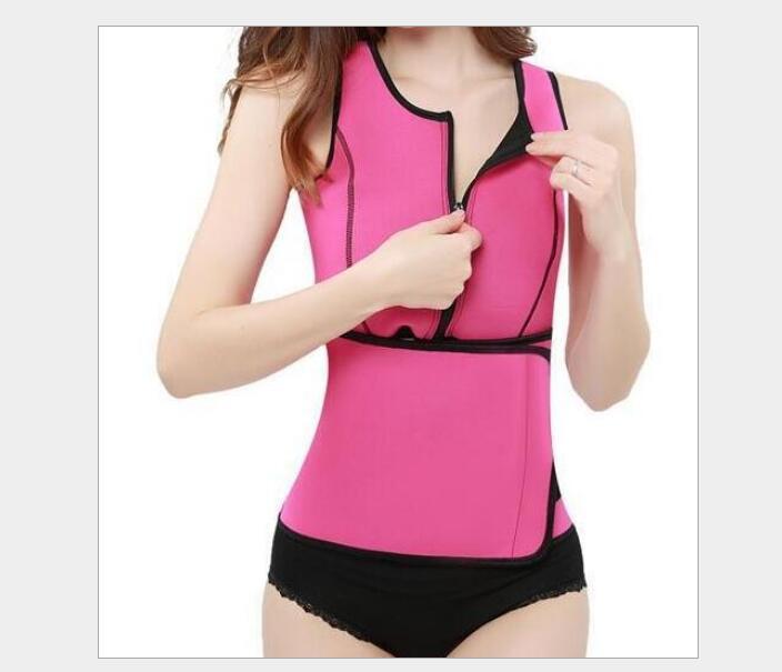 네오프렌 사우나 허리 트레이너 조끼 Hot Shaper 여름 운동 Shaperwear 슬리밍 조절 땀 벨트 Fajas Body Shaper