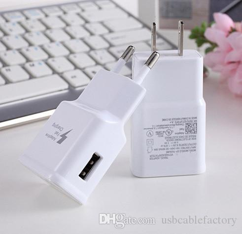 Fast Charging Quick Wall Charger Travel Adapter Power EU US Plug 2A Best quality for Samsung Galaxy s6 N7100 S8 edge note2