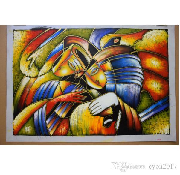 추상 유화 손으로 복사 세계 유명 피카소 그림 벽 예술 생활 그림 현대 캔버스 회화