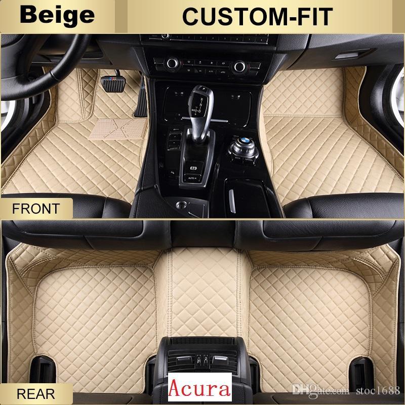 Best Scot Custom Fit Leather Car Floor Mats For Acura Rdx All - Acura rdx floor mats