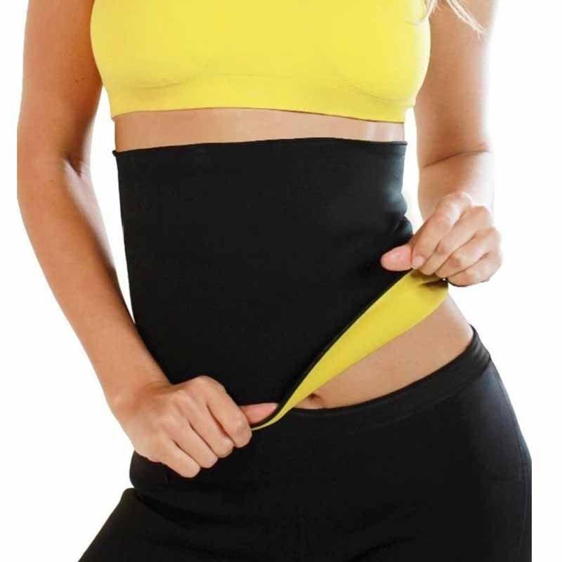 58ae5d53d6bea 2018 Wholesale Waist Trainer Hot Body Shapers Neoprene Shaper Sweat Women  Bodysuit Waist Belt Cinchers Slimming Corsets Tummy Fat Burner Slim From  Benedica