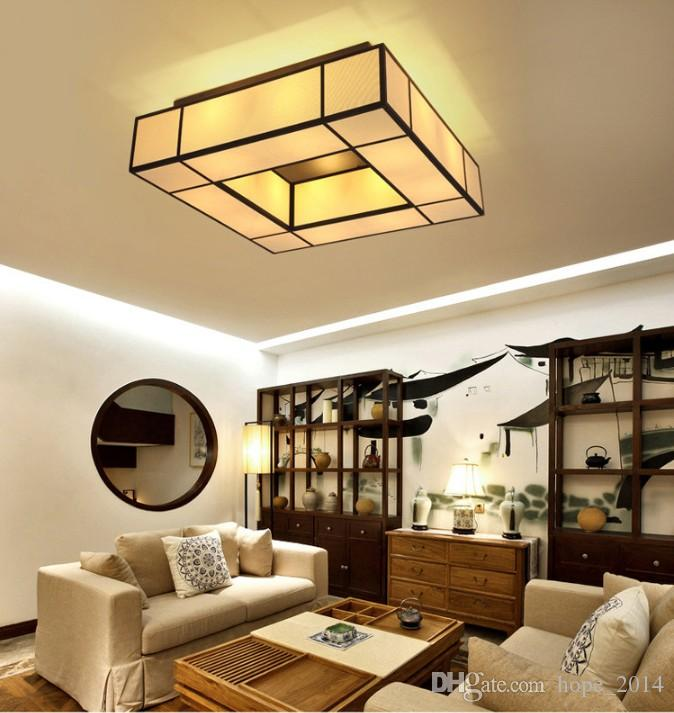 New chinese style led ceiling lamp ceiling lights living room creative study bedroom dining room hotel guest room engineering lamps chinese ceiling