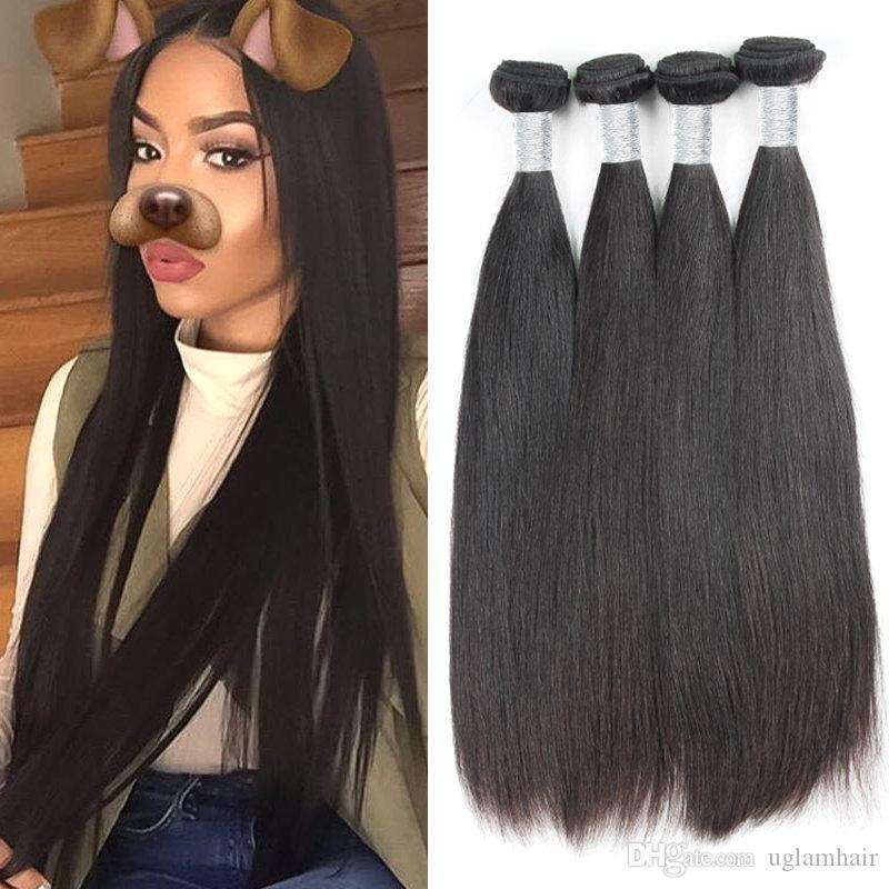 Dollface Malaysische Haarwebart Bundles Mit Frontal Körper Welle 3 Reines Menschliches Haar Bundles Mit Spitze Frontal Verschluss Kostenloser Versand Haarverlängerung Und Perücken