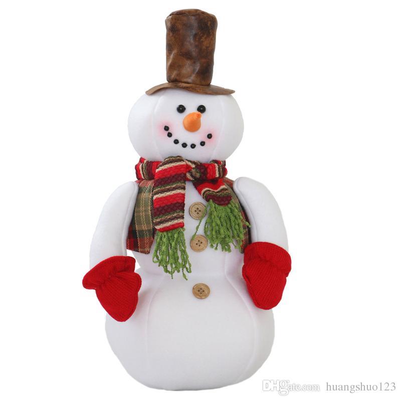 Großhandel Weihnachtsgeschenke Süße Schneemann Puppen ...