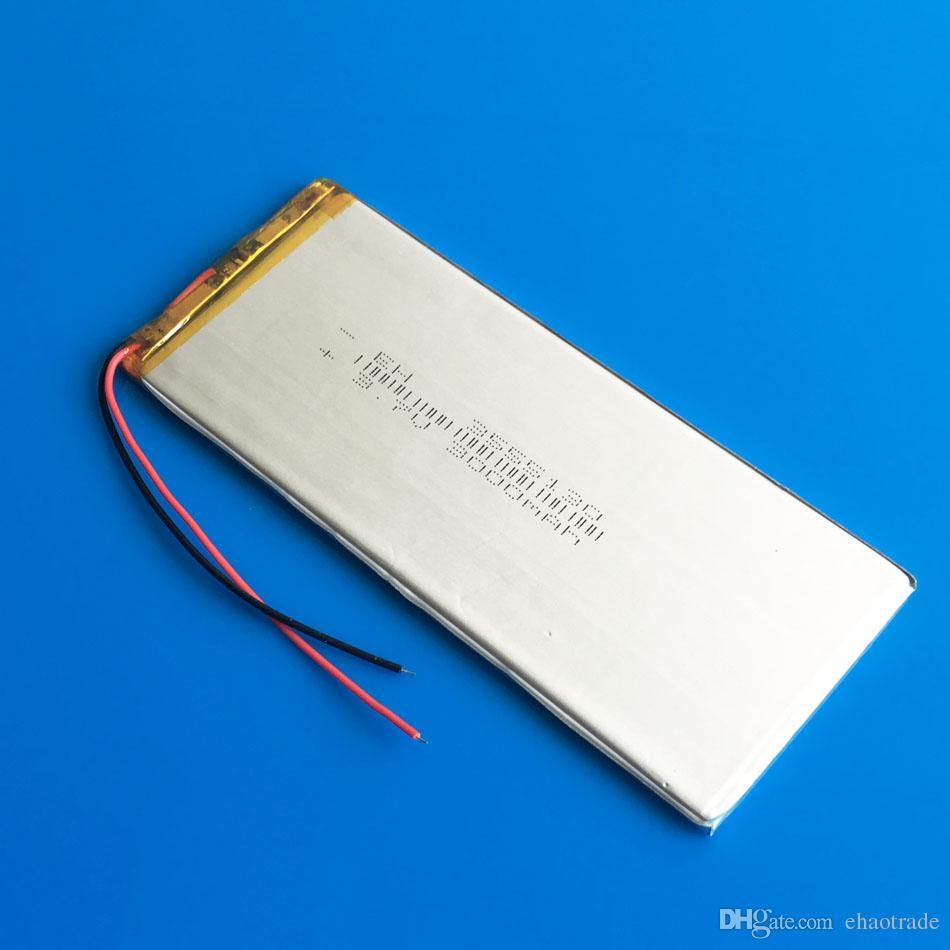 Model 3555130 3.7 V 3000 mAh Lityum Polimer Li-Po Şarj Edilebilir Pil Için DVD PAD cep telefonu GPS güç bankası Kamera E-kitaplar Recoder TV kutusu