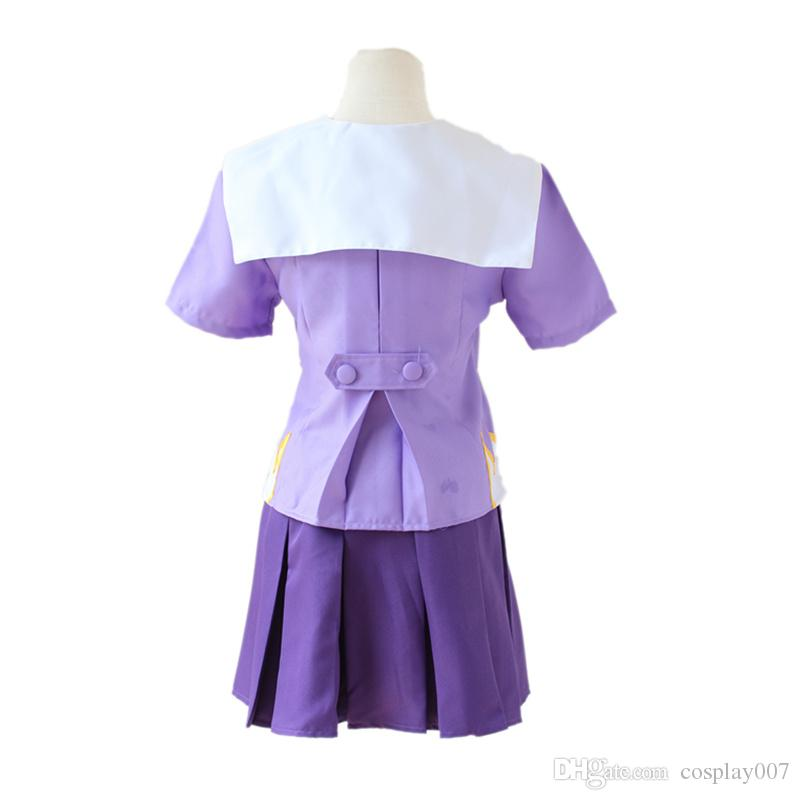 Gasai Yuno trajes cosplay Uniforme falda anime japonés Mirai Nikki ropa Masquerade / Mardi Gras / Carnival disfraces suministro de stock