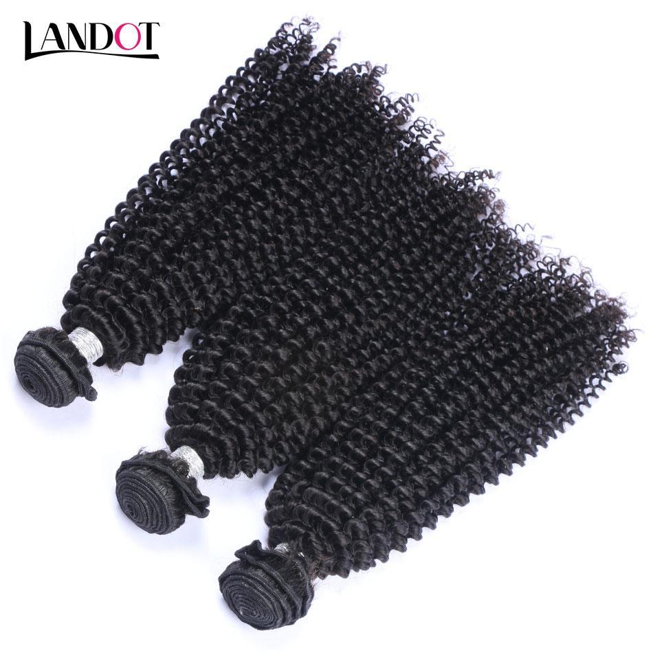 몽골 변태 곱슬 처녀 머리카락 3 조각 처리되지 않은 몽골 곱슬 인간의 머리카락 짜다 번들 아프리카 킨키 곱슬 머리 자연 색채 염색 가능