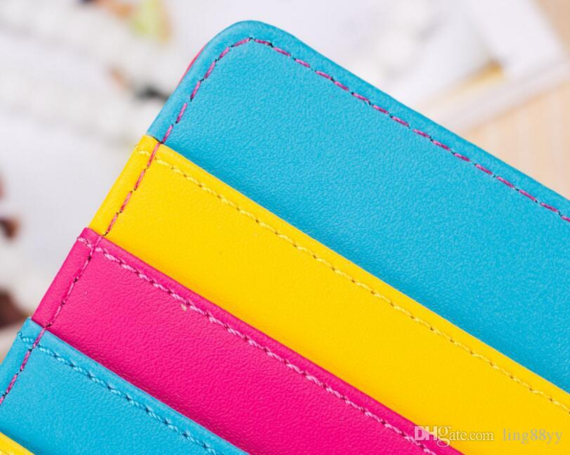 Wholesale Memory bicycle Leather Lady's Long Purse Elegant Wallets Women Passport Wallet Print Card Holder Purse Wallets And Coin Purses