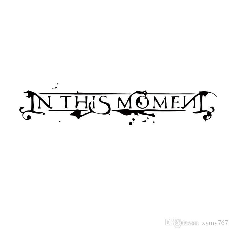 New style for in this moment rock metal band truck car styling decal vinyl sticker jdm car window accessories decor vinyl stickers car sticker car styling