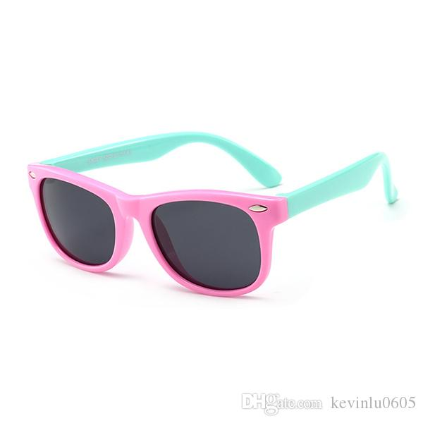 c06abb7ffa2 ful Rubber Flexible Kids Polarized Sunglasses For Baby And Children Age 3  10 334022 From Kevinlu0605