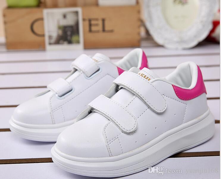2017 primavera estate nuove scarpe casual bambini moda sneakers ragazzi ragazze bianche scarpe sportive bambini scarpe bambini G430