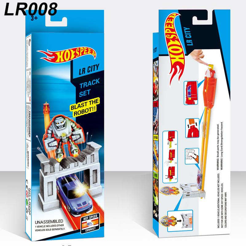 Hot Wheels Track Builder System Versus Track Set Jump Stunt Kit Playset n' Go Mini Alloy cars Diecast Vehicle Track Racing kids toys