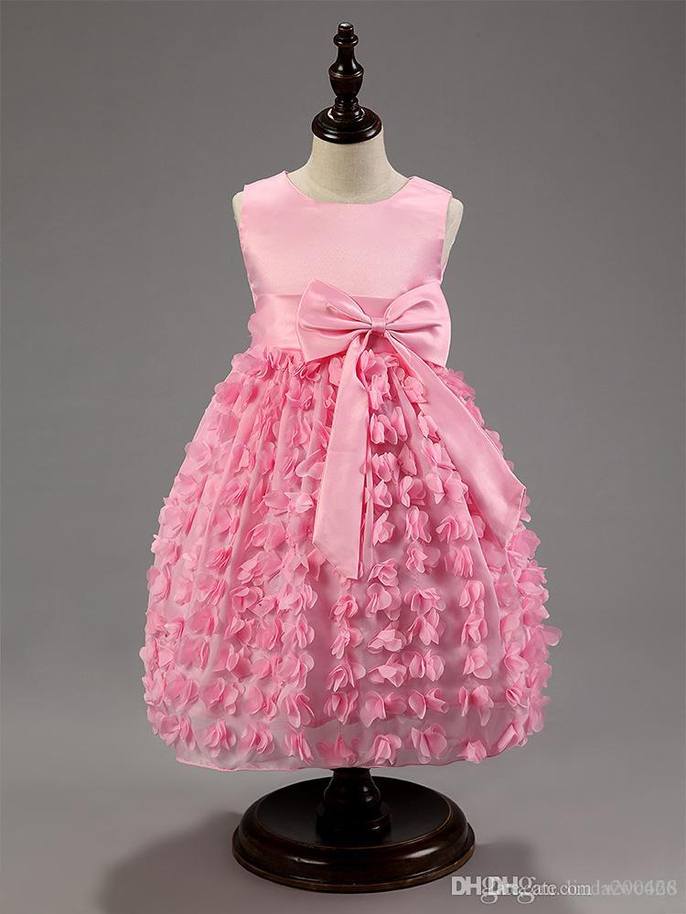 Multa Vestidos De Las Niñas Para Bodas Ideas Ornamento Elaboración ...